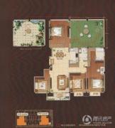 嘉城尚郡3室2厅2卫178平方米户型图