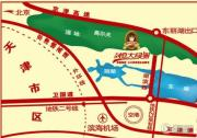 恒大翡翠华庭交通图