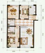 锦尚国际3室2厅2卫119平方米户型图