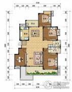上上城・壹号院4室2厅2卫151平方米户型图