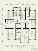 河畔丽景5室2厅3卫0平方米户型图