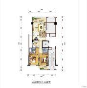 梅岭观海6室2厅4卫260平方米户型图