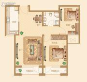 新华联雅园2室1厅1卫92平方米户型图