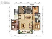 绿地・海珀天沅3室2厅3卫192平方米户型图