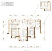 漳州国贸润园3室2厅2卫0平方米户型图