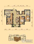 盛泽伯爵山3室2厅2卫115平方米户型图
