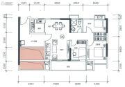 正太广场3室2厅1卫99平方米户型图