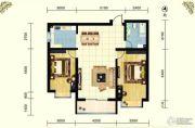 云祥花苑2室2厅1卫109平方米户型图