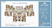 富力天海湾3室2厅1卫96--120平方米户型图