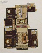 城关万达广场4室2厅4卫260平方米户型图