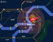 泽科弹子石中心交通图