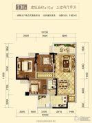 邦泰・天誉3室2厅1卫92平方米户型图
