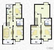 城南春天4室2厅2卫146平方米户型图