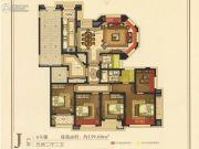 紫荆假日广场5室2厅2卫140平方米户型图