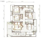 西关海4室2厅2卫156平方米户型图