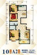 傥滨春天3室2厅2卫0平方米户型图