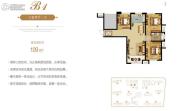 生活・印象3室2厅1卫109平方米户型图