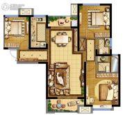 德杰・德裕天下3室2厅2卫115平方米户型图