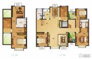 南湖燕园4室2厅3卫260平方米户型图