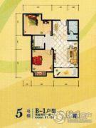 傥滨春天2室2厅1卫0平方米户型图