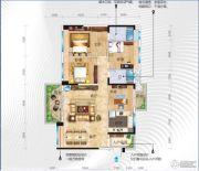 碧桂园・十里江湾4室2厅2卫143平方米户型图