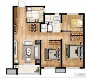 万科城3室2厅1卫85平方米户型图