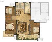 海信珠山小镇3室2厅1卫95平方米户型图