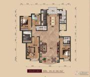 中广宜景湾・尚城4室2厅4卫285--286平方米户型图