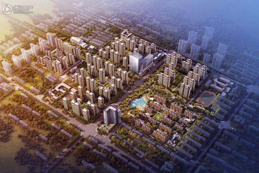 尚宾城鸟瞰图