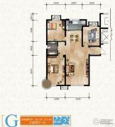 清苑尚景3室2厅1卫0平方米户型图