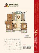 林海尚城3室21厅0卫129平方米户型图