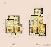 金地朗悦112--119平方米户型图