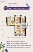 群升江山城4室2厅2卫107平方米户型图