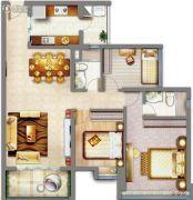 祈福缤纷汇3室2厅2卫94平方米户型图