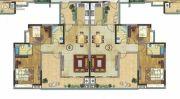 珠光御景山水城3室2厅0卫102平方米户型图