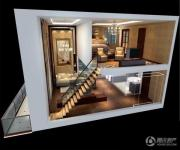 蓝光空港国际城1室1厅1卫97平方米户型图