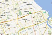 上海长滩交通图