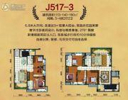 阳山碧桂园4室2厅2卫113--160平方米户型图