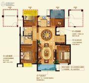 中梁国宾府4室2厅2卫120平方米户型图