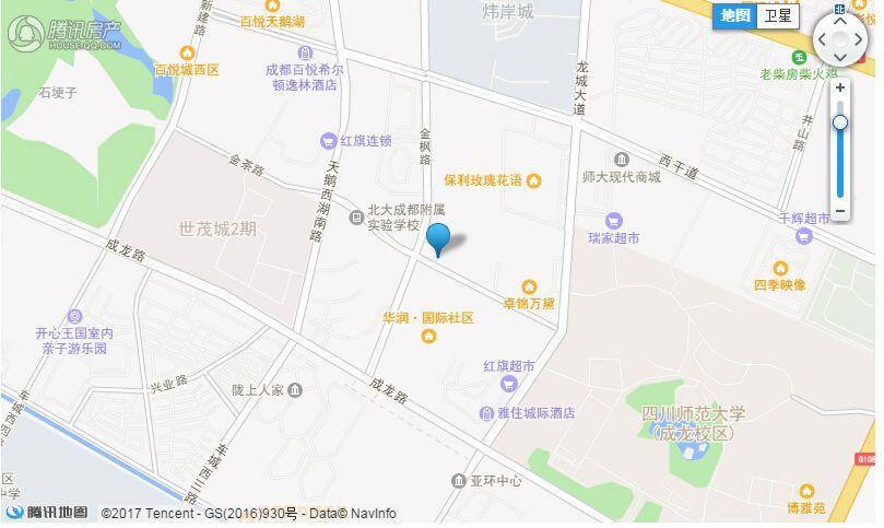 项目电子交通图