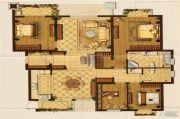 星叶羊山湖花园4室2厅2卫165平方米户型图