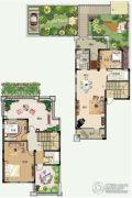青建香根四季3室2厅2卫138平方米户型图