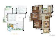 大华锦绣华城3室2厅1卫103平方米户型图