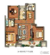 光明檀府3室2厅2卫0平方米户型图