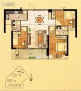 金紫世家3室2厅2卫99平方米户型图