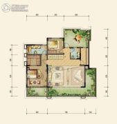 约克郡北区4室3厅3卫0平方米户型图