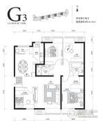 首开・璞�v公馆4室2厅2卫141平方米户型图