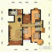 东方名城3室2厅2卫174平方米户型图