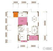 星湖湾4室2厅2卫86平方米户型图