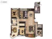 南昌铜锣湾广场5室2厅4卫224平方米户型图